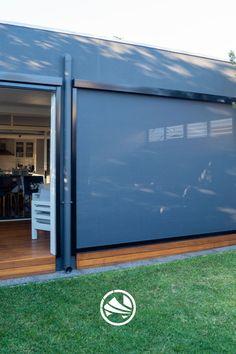 Outdoor Blinds, Smart Home, Remote, Garage Doors, Shades, Outdoor Decor, Smart House, Sunnies, Eye Shadows