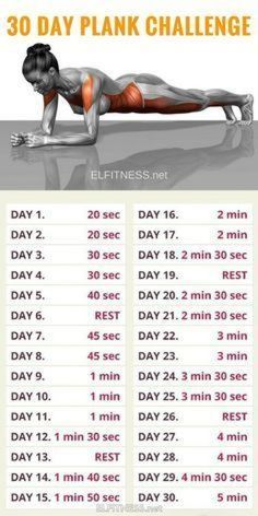 30 Day Plank Challenge and Here's What Happened!, 30 Day Plank Problem and Right here's What Occurred! 30 Day Plank Problem and Right here's What Occurred! 30 Day Plank Problem and Right here's . Fitness Workouts, Yoga Fitness, Gym Workout Tips, Plank Workout, At Home Workout Plan, Workout Challenge, Easy Workouts, At Home Workouts, Fitness Motivation