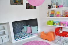 fun sleeping nook / bunk for kids