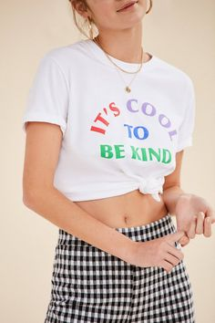 bcb47ebc099 UO Be Kind Tee