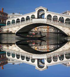 venice covered bridge