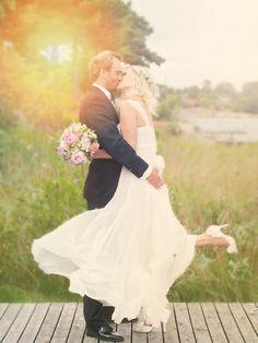 #Wedding <3 #Love <3 #Couple  siljeskylstad.com Norwegian Wedding, Weddings, Couples, Wedding Dresses, Photos, Beautiful, Fashion, Bride Dresses, Moda