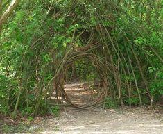 living willow sculptures | Floriade willow circle