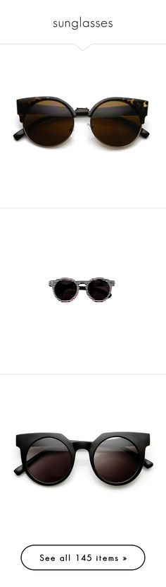 sunglasses by olivia-mr on Polyvore featuring women's fashion, accessories, eyewear, sunglasses, glasses, cat eye glasses, round circle sunglasses, round sunglasses, vintage style sunglasses and circle sunglasses