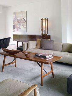 Mid Century Modern Interior - Albano Daminato as seen at plastolux