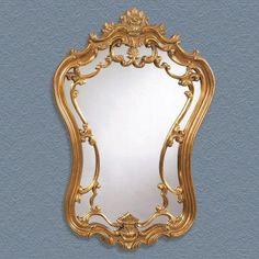 Antique Gold Ornate Arched Wall Mirror - 24W x 35H in. - M2968EC