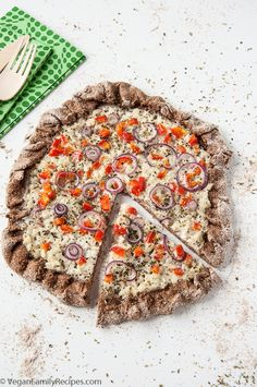 Coconut and Garlic White Pizza