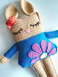 Crochet Ball, Crochet Teddy, Easter Crochet, Crochet For Kids, Crochet Toys, Knit Crochet, Amigurumi Tutorial, Baby Rattle, Crochet Animals