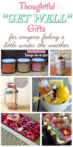 Thoughtful Get Well Gifts - diy home sweet home