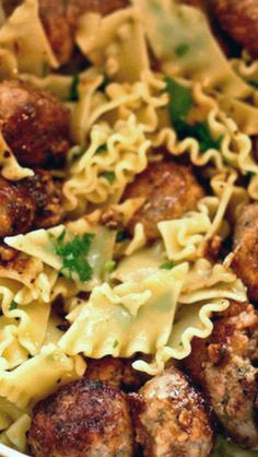 Pork and Lemon 'Polpettine' Meatballs