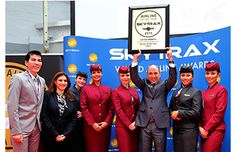 Qatar airways becomes airline of the year this year, 2015.