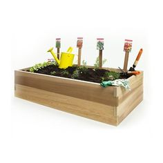 All Things Cedar Rg Double Raised Garden Earth Box