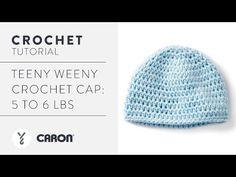 Caron Teeny Weeny Crochet Cap   Yarnspirations