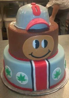 Buckeyes Cake-this wouldn't be very hard. I might actually try this!