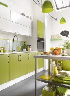 #Cocinas en dos #colores. #Diseño de cocinas #linea3cocinas #Madrid.