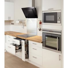 27 perfect and awesome modern kitchen remodel ideas on budget 11 - Homeadzki Website Diy Kitchen Decor, Kitchen Furniture, Interior Design Living Room, Cuisines Design, Küchen Design, Design Ideas, New Kitchen, Kitchen White, Home Kitchens