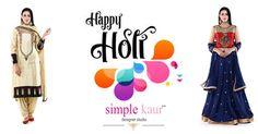 Happy Holi. Save water and play with colours.  #simplekaur #holi #happyholi #indianholi #holi2017 #2017holi #chandigarh #chandigarhholi2017