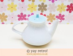 50 & 60s Poole Pottery Teapots now in stock - Retro, Vintage China, Glassware, Kitchenalia, fabrics and books - yay retro!
