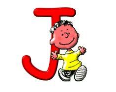 Alfabeto de Snoopy y sus amigos. | Oh my Alfabetos!