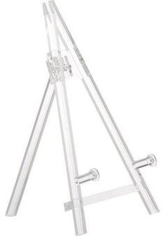 Acrylic Baby Easel modern-frames