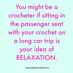 I love crocheting every day on my commute!