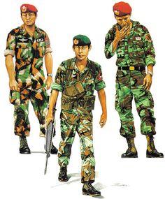 Military Photos, Military Art, Military History, Marine Corps, German Uniforms, Military Uniforms, Ww2 Uniforms, Royal Thai Army, Soldier Drawing