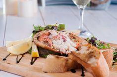 Award-winning Favis of Salcombe crab - perfect for sharing #SocialFood #TheDock #Plymouth @FavisLtd