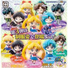 Puchi-Chara! Sailor Moon Figure Box Set Volume 3 http://moe.jlist.com/click/4518?url=http://www.jlist.com/product/PRE4074 #sailormoon