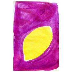 When life gives you lemons, paint them bright! #lemons #draweveryday #creativeprocess #emmaphilipson #dailypractice