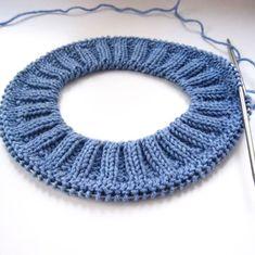 Diy Crafts - Imitation of the extension crochet description Knitting Paterns, Easy Knitting, Knitting Stitches, Knitting Socks, Knitting Needles, Knit Patterns, Stitch Patterns, Knitted Hats, Crochet Projects