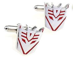 Mancuernillas Transformers Red