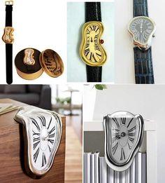 ダリ『記憶の固執(柔らかい時計)』の腕時計&時計 pic.twitter.com/0DKbTwLJBH