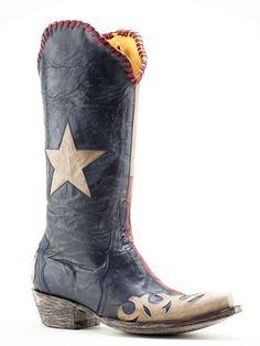 Ladies Old Gringo Spirit Of Texas Boots L1416-4 - Texas Boot Company is located in Bastrop, Texas. www.texasbootcompany.com