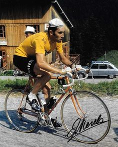 Eddy Merckx Bike Poster, Vintage Cycles, Bicycle Art, Sport, Road Bike, Bicycling, Lady, Celebrities, Skate