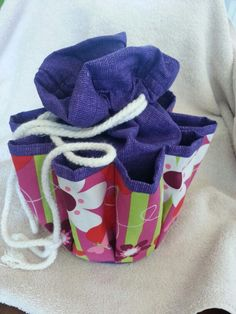 I made this bingo dauber bag from a pattern I found online total craft time was 3 hours- I'm not a fast seamstress lol