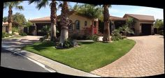 Beautifully done luxury golf course estate in Rancho Mirage, CA (near Palm Springs).    www.lovepalmspringshomes.com
