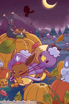 43 best halloween pokémon art images on pinterest pokemon stuff