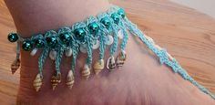 Ravelry: Seashell Barefoot Sandals pattern by Kathryn A. Clark