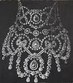 The is the Resille necklace. it was worn by Queen Alexandra of England Jacques Cartier, England, Queen, English, British, United Kingdom