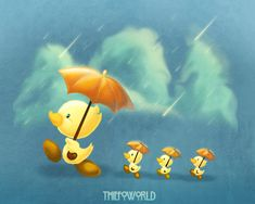 pato and patitos by Thiefoworld on DeviantArt