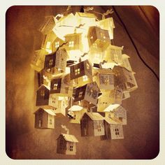 I want a magical Paper House Light