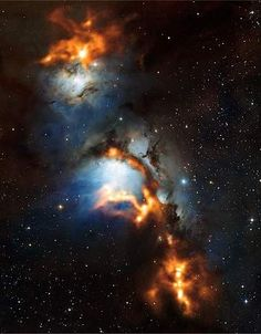 orion belt and cosmic dust