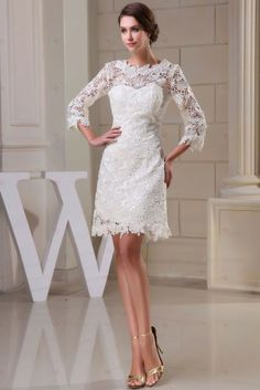 Special Occasion Dresses Wedding Dress Short Lace