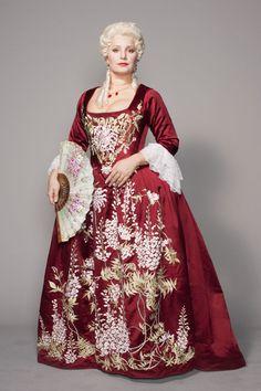 Les Noces de Figaro - Opéra National de Paris - Barbara Frittoli as La Contessa di Almaviva - Costume design: Ezio Frigerio - Embroidery: www.sjolanderembroidery.com