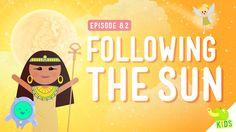 Week 8.....Following the Sun: Crash Course Kids #8.2