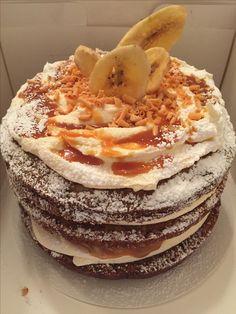Banoffee triple Layer Cake