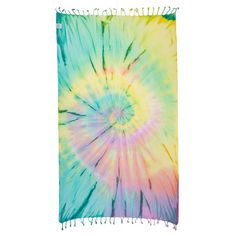 Wanderlust tie-dye. Check out SandCloudTowels.com and use CCAITLIN25 to save 25% off your entire purchase. Whether you just get a towel or some stickers, it's all for a great cause! 10% of net profits is donated to help save our beaches, oceans, and marine life.