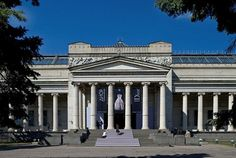 Moscow (RUSSIA)  The Pushkin State Museum of Fine Arts