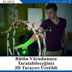 Something we loved from Instagram! 3D tarayıcıları modelleme yapmamızı sağlayan cihazlar olarak tanıyoruz. Belirli bir platformu olan ve bu platformda bulunan nesneleri tüm yönlerden tarayan bu cihazlar sabit bir platformla birlikte çalışmaları nedeniyle her cismi taramak amacıyla kullanılamıyorlardı. Pieter Smakman adındaki bir adam 3D tarayıcıların platform ile çalışma zorunluluğunu ortadan kaldırarak yeni bir 3D tarayıcı dizaynı üretmeyi başardı. Çember şeklindeki bu yeni 3D tarayıcı…