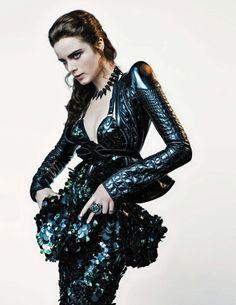 Anna de Rijk for Vogue Netherlands - Roberto Cavalli